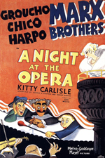 A Night at the Opera Poster Small