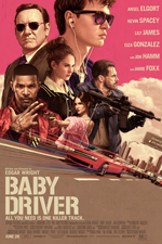 Baby Driver Poster Small