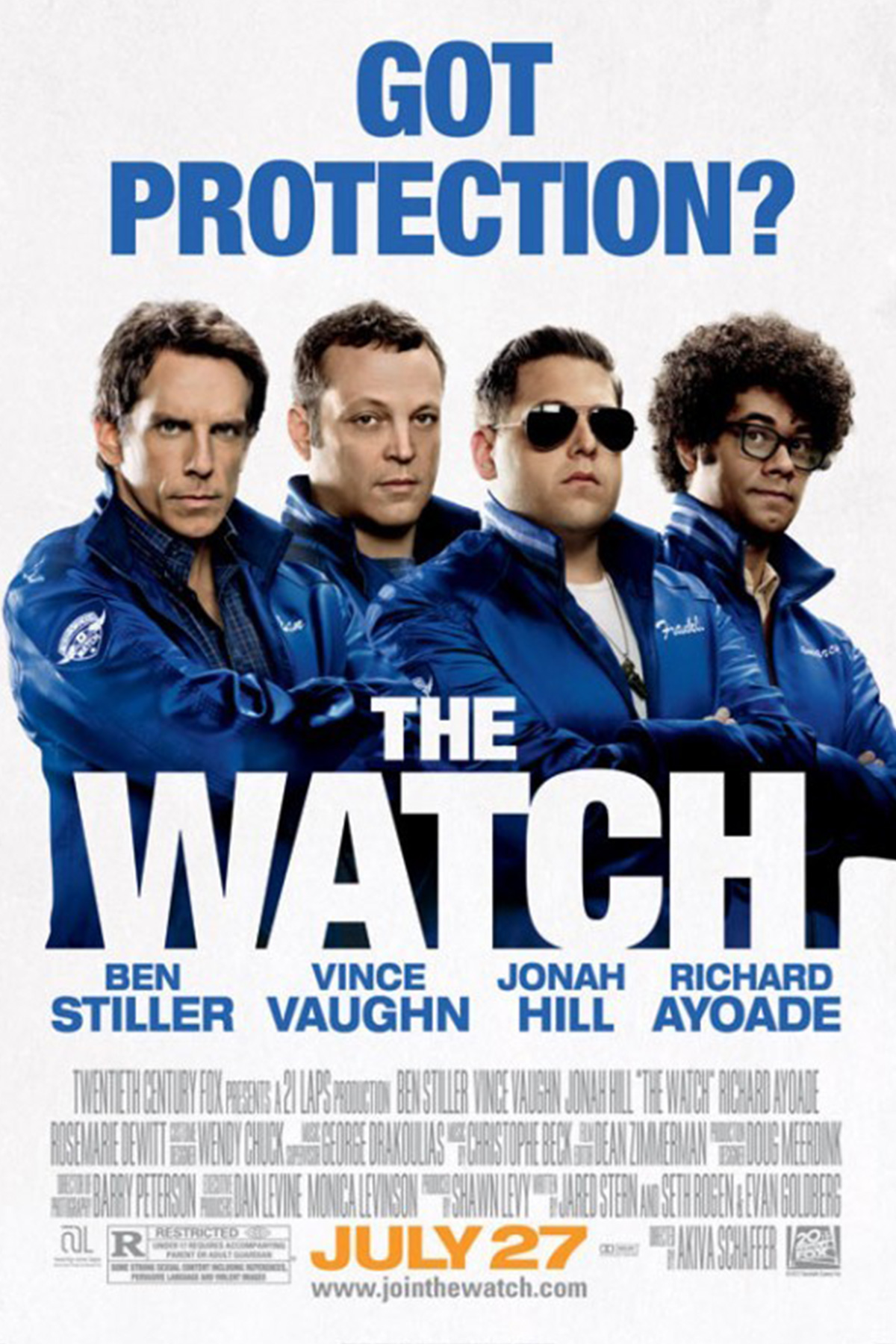 The Watch Film Poster Small