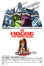 The House That Dripped Blood Poster Small